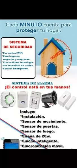 Alarma de seguridad inalámbrica Wifi antimascotas