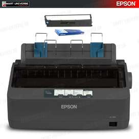 Impresora Epson Lx350 Matricial 390 Cps Usb, Paralela