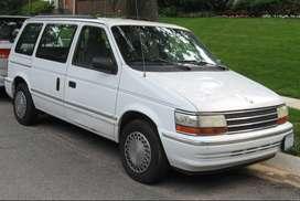 Vendo Camioneta Chrysler Plymouth Voyager 7 Asientos Color Blanco