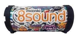 Parlante Portátil Bluetooth Moonki 8 Sound Mi-c63bt 9w