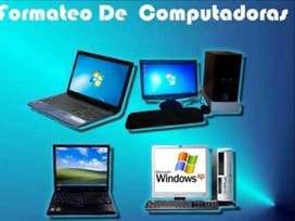 Formateo de Equipos de Computo
