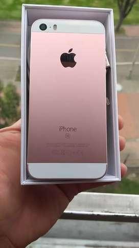 IPHONE ROSA GOLD  64 GB , LIBRE , ORIGINAL, BATERIA 88% ,
