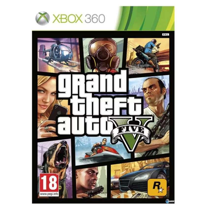 GTA V. ( XBOX 360) ORIGINAL 0