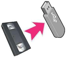 VHS a Pendrive