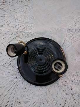 Luz para baño,doble 20 cm diametro