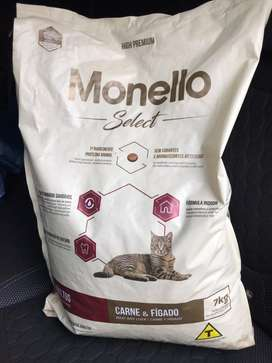 Monello select carne e hígado 7kg