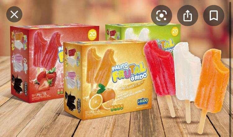 Oportunidad helados grido!! 0