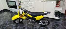 Mini moto suzuki drz 70cc hermosa