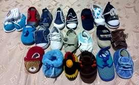 Lote de zapatos para bebe