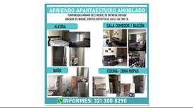 ARRIENDO APARTAESTUDIO AMOBLADO