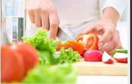 Se solicita preparador de comidas rápidas o cocinero