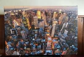 Cuadro New York Nueva York Canvas 48x32
