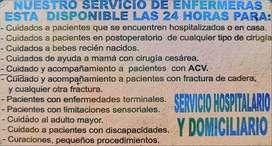 Servicios de Enfermeras a Domicilo