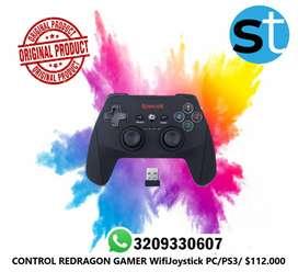 CONTROL REDRAGON GAMER WIFIJOYSTICK PC7ps37