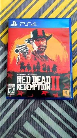 Vendo juego Red Dead Redemption II