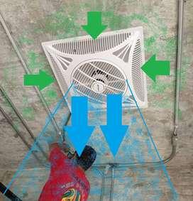 ventilador de techo cod 485696 empotrable decorativo