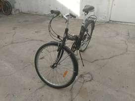 Bicicleta plegable aurora 26