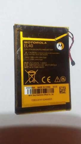 Bateria motorola EL40 originales nuevas