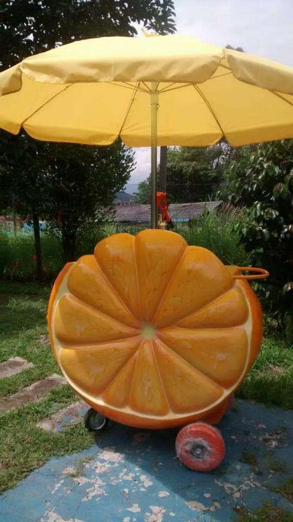 Carro para Venta Jugos Y Frutas 0