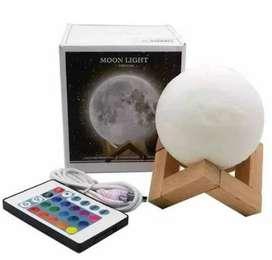 lampara luna con control