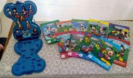 Vendo colección de Casa Disnep y cuentos de Mickey Mouse