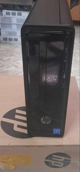 TORRE CPU HP CELERON MEMORIA RAM 4GB DISCO DURO DE 500GB GARANTIA DE 6 MESES