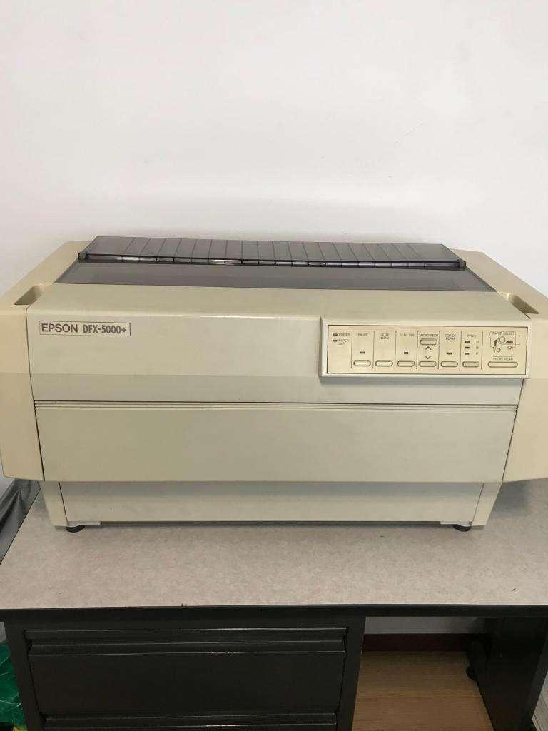 vendo impresora epson DFX 5000 0