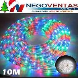 MANGUERA LED MULTICOLOR DE 10 METROS DECORATIVA