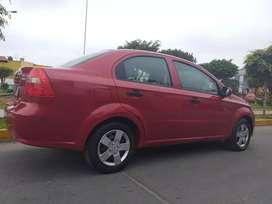 Chevrolet aveo año 2011 mod 12, mecanico, full, glp de 5ta generación