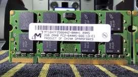 MEMORIA RAM DDR2 2GB BUS 666MHZ