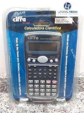 Calculadora Científica CIFRA