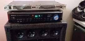 Vendo Amplificador ,misel Y Bafle