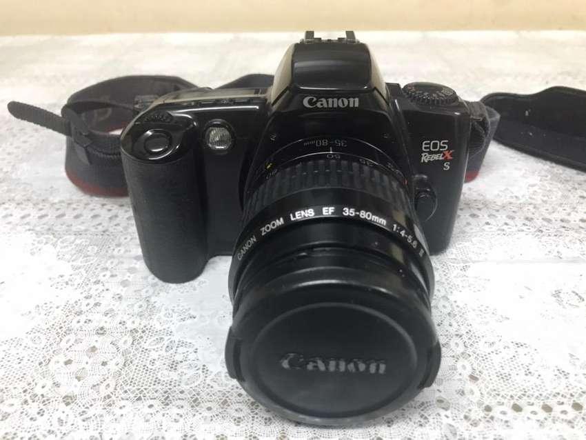 Canon EOS Rebel X S + Zoom Lens 35-80mm