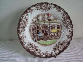 antiguo plato decorativo johnson bros ingles