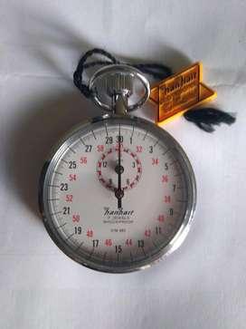 Cronómetro HANHART 7 jewels - Genuino Alemán (Sin uso): ContraMarcado