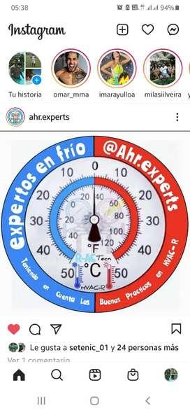 Se solicita auxiliar en refrigeracion aire acondicionado