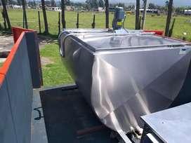 Vendo hermoso tanque frio de 1000 litros.