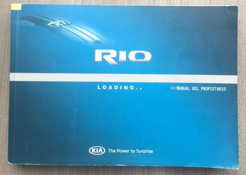 Manual de usuario Kia RIO spice