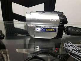 Video camara Sony dcr dvd610 pantalla táctil