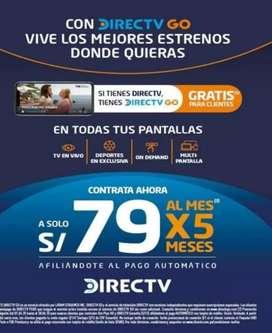 CONTRATA DIRECT TV POS PAGO