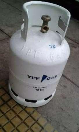 sin gas vacia