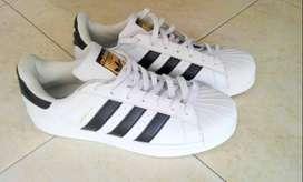 Tenis Adidas Superstar Originales Blancos Talla 10 US