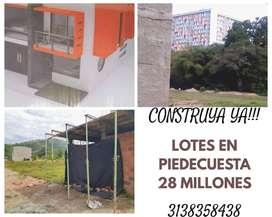 Construya YA Lotes de 60 mts en Piedecuesta