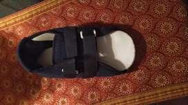 Pantufla ortopedica para fractura Pie