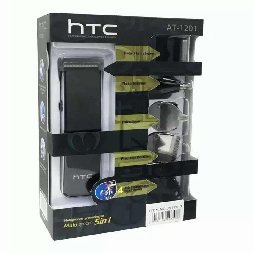 Maquina barbera Afeitadora HTC TODO EN 1