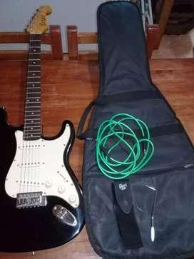 Vendo guitarra electrica Texas nueva poco uso