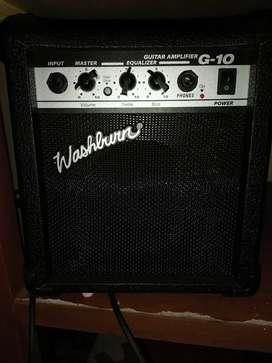 Amplificador para guitarra eléctrica WASHBURN G10. Nuevo. Excelente sonido y portátil.