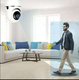 Camara wifi 1080 p 2 audios pan till 360 g tarjeta mamoria sd  nube almacena  interior