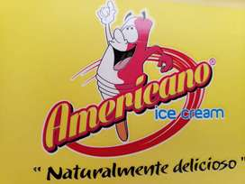 Deseas ser distribuidor de Americano ice cream