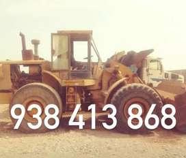 Cargador frontal CAT 966 C